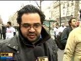 Manifestation de soutien au peuple égyptien