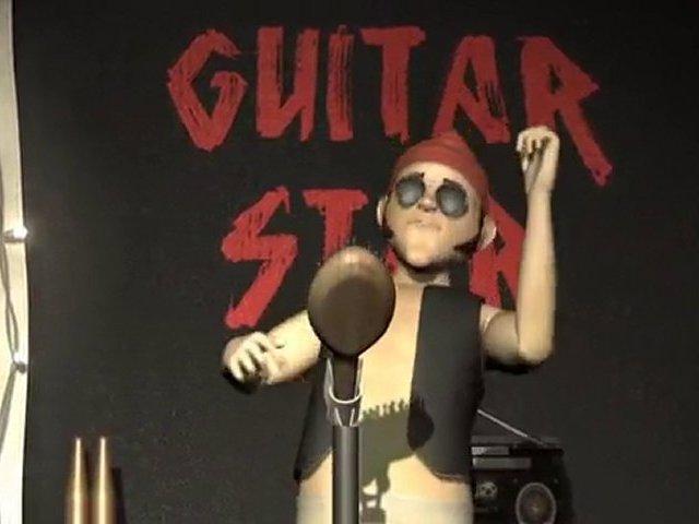 Guitar Star, Music Video, Animation, Guitar Instrumental