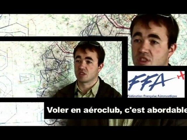 Voler en aéroclub, c'est abordable.