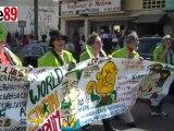 Marche de lancement du Forum social mondial 2011 à Dakar