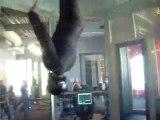 Crazy Indoor Skydiving