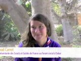 Les Scouts et Guides de France au Forum Social Mondial