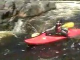 Whitewater kayaking the Doncastor River