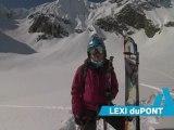 First Ascent - Lexi duPont skis Alaska