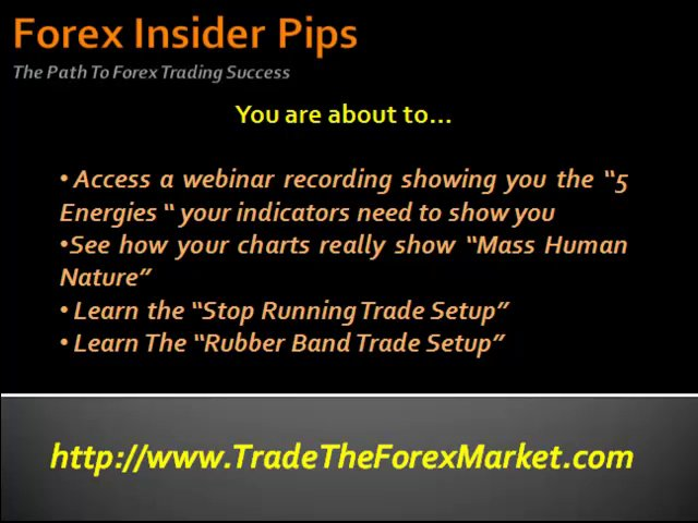 Forex Indicator Trading System