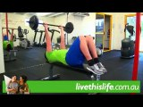 livethislife - Barbell Tricep Extension