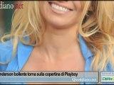 Pamela Anderson bollente torna sulla copertina di Playboy