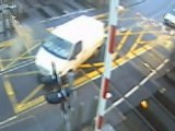 More near-misses at level crossings