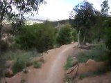 Canberra Australia - 1  Mt Stromlo - MTB Singletrack Helmet Cam Rollercoaster to Skyline to Luge