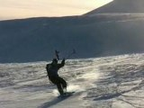 Snow kiting in Idaho: SO FAR THIS YEAR