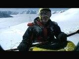 Sickline Fun: Snow Kayaking