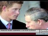 Il principe Harry sorpreso a un rave illegale