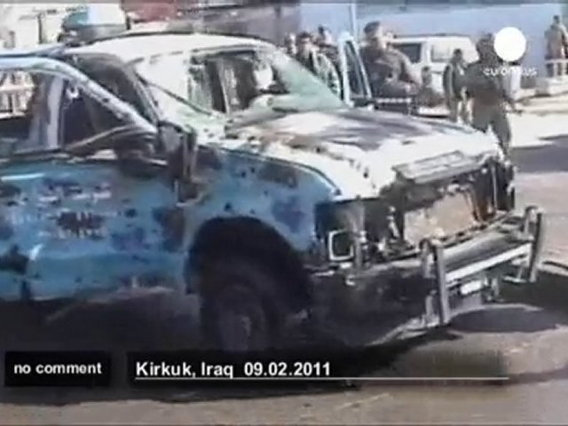 Iraqi police official targeted by bomb... - no comment