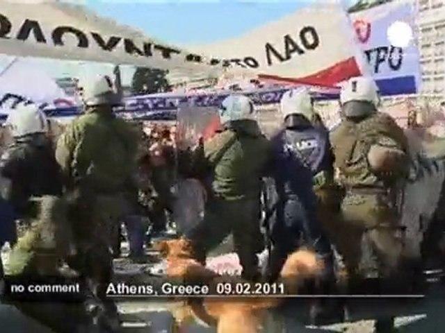 Grève des médecins à Athènes - no comment