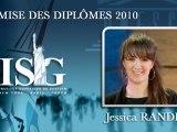 Remise des diplômes ISG promo 2010 - Major du Cycle Management Accéléré