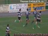Saison 2008/2009  equipe 1 Tyrosse/rome essai3