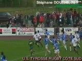 Saison 2008/2009  equipe 1 Oloron/Tyrosse essai1