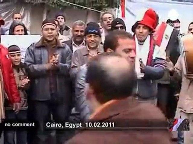 """L'armée égyptienne veut """"appuyer les... - no comment"""