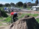 Dirt jumper Trond Hansen hitting Post Office jumps in Aptos - Specialized P3 - Bike Check