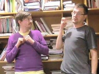 fatwa contre les guillemets! Luz et Charb Charlie Hebdo