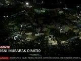 Hosni Mubarak renunció