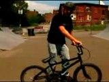 Basic Freestyle BMX Tricks : Tips for Riding Backwards on a BMX Bike