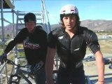 Travis Pastrana, Dusty Wygle, Special Greg of Nitro Circus Ride Giant BMX Down Under
