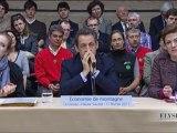 N. Sarkozy préside la table ronde sur l'économie de montagne