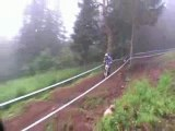 2009 World Cup UCI Downhill Mountain Bike Mont Sainte Anne Part 5 The Fog