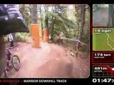 Extreme Downhill Mountain biking with Dan Atherton on the World Cup course Maribor, Solivina