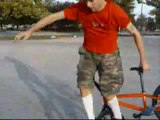 Flatland BMX Tricks by Damian Bacci