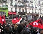 Manifestation de soutien au peuple Egyptien