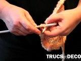 Tricoter des mailles à l'envers en tricot par TrucsetDeco.com