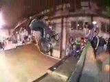 BMX crashes