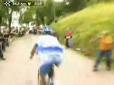 Stage 9 - 222km Toulouse to Bagneres-de-Bigorre - Highlights - 2008 Tour de France