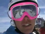 Marja Persson ski video diary from Freeride World Tour Squaw Valley, USA