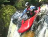 River Twiss - Tight Waterfall Creeking in the UK