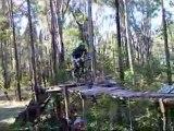 Extreme downhill mtb video
