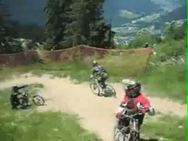 Mountain biking – Morzine, France