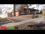 Фейл на BMX / BMX Jump FAIL
