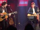 Jean louis Aubert et raphaël en duo live  RTL sur la route