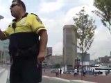 Baltimore cops V.S. skateboarder