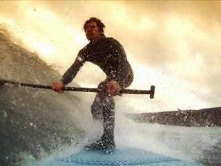 Stand Up Paddle Board Surf en Gijón. HD GoPro camera