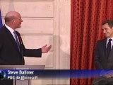 Microsoft: Steve Ballmer chevalier de la Légion d'honneur