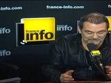 """Olivier Marchal présente la pièce """"Pluie d'enfer"""""""