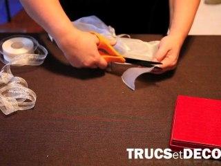 Faire un noeud en ruban ou en tissu par TrucsetDeco.com