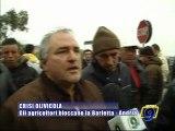 BARLETTA. Crisi olivicola, gli agricoltori bloccano la Barletta - Andria