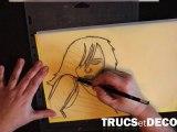 Comment créer un pochoir soi même ? Par TrucsetDeco.com