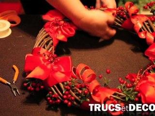 Faire une couronne de Noël par TrucsetDeco.com