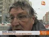 Les salariés de Ducros en colère (Montpellier)